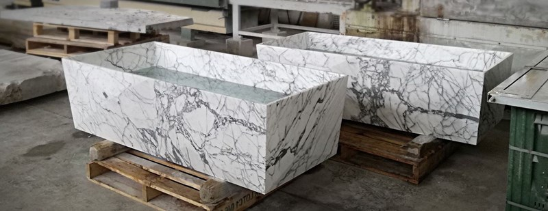 PHITAOS Bath tub in marble 3D Design