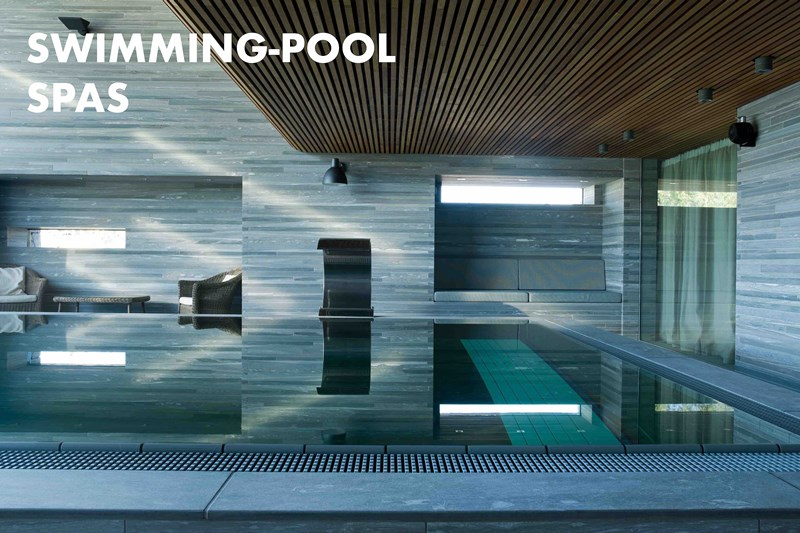 VALS Stone swimming pool SPA